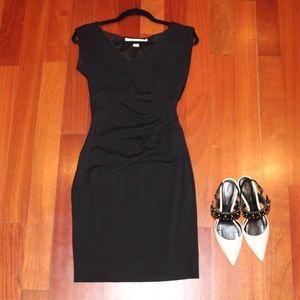 DVF navy blue dress